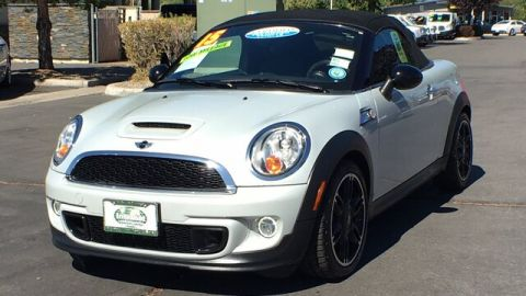 Pre-Owned 2015 MINI Roadster Cooper S FWD Convertible